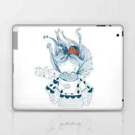 Scandinavian seaman's wife Laptop & iPad Skin