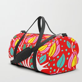 Love Grows Forever - Tomato Red Duffle Bag