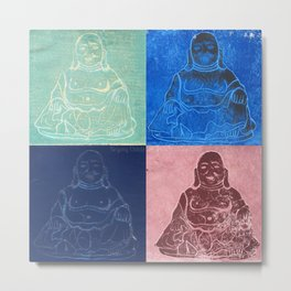 Brilliant Buddha Metal Print
