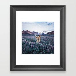 Why Do You Love Nature? Framed Art Print