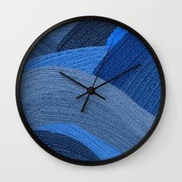 Shadesmultiblue Wall Clock