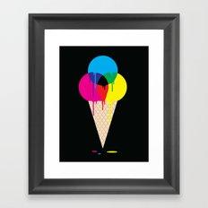 CMYKream Framed Art Print
