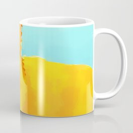 Yellow Cat 2 Coffee Mug