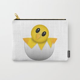 Hatching baby chick Emoji Carry-All Pouch