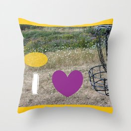 I Heart Those Chains Throw Pillow
