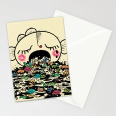 Save the fishes Stationery Cards