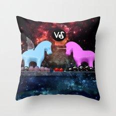 Cosmic challenge Throw Pillow
