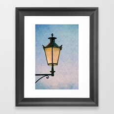 lantern Framed Art Print