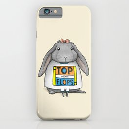 Top of the Flops iPhone Case