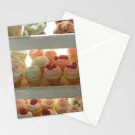 Cupcake Bakery  Stationery Cards