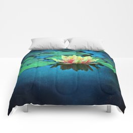 waterlily textures Comforters