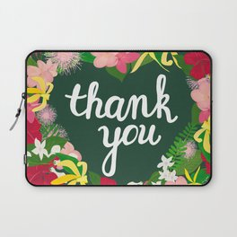 Thank You Laptop Sleeve