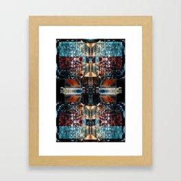 OR/WELL: Calculator V1 Framed Art Print