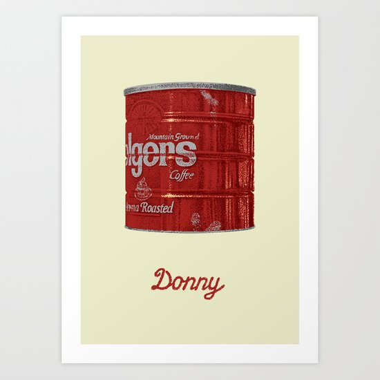 The Lebowski Series: Donny Art Print