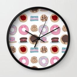 Evil Desserts Wall Clock