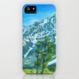 Himalaya mountains iPhone Case