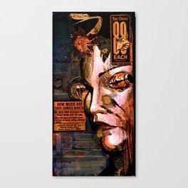 88 cents Canvas Print