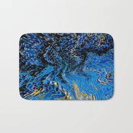 Curve block Art Bath Mat