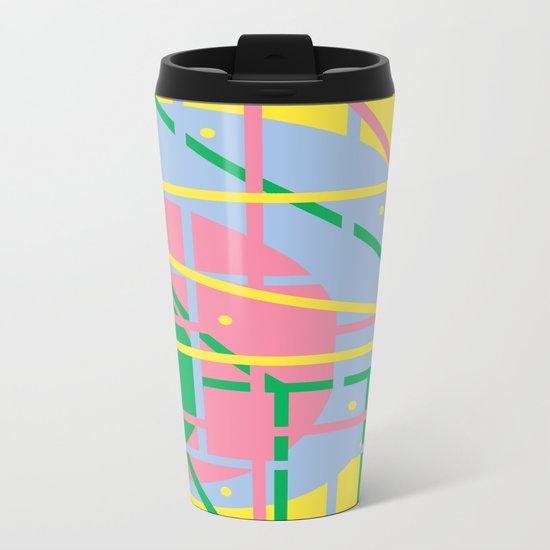 Colours Q Metal Travel Mug