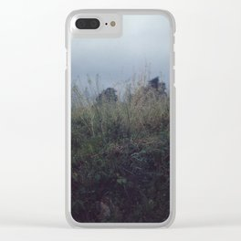Darker Days Clear iPhone Case