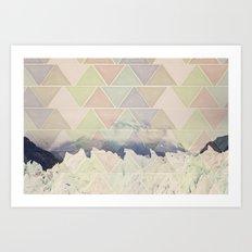 Geometric Alaska Art Print