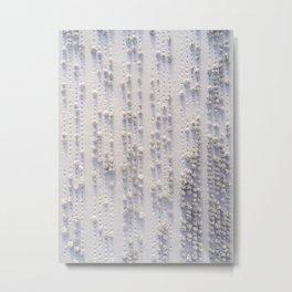 Tree Braille Metal Print