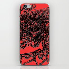 The Leap version 2 Red iPhone Skin