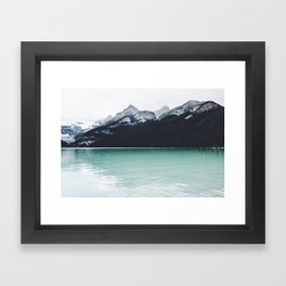 Lake Louise Reflections  Framed Art Print
