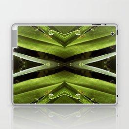 Dew Drop Jewels on Summer Green Grass Laptop & iPad Skin