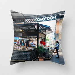 Bakery in Old Spitalfields Market Throw Pillow