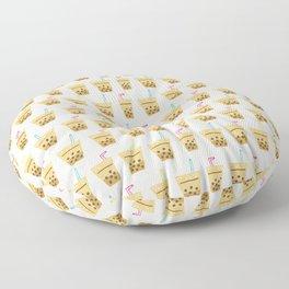Milk Bubble Tea Floor Pillow