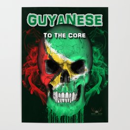 To The Core Collection: Guyana Poster