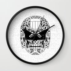 Day of the Dredd Wall Clock