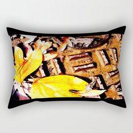 Leaves & Manhole Cover  Rectangular Pillow