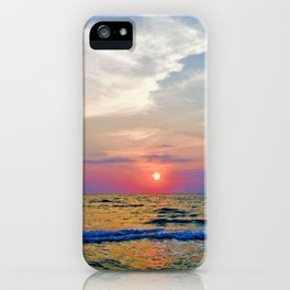Naples Florida sunset on the Gulf of Mexico iPhone Case