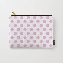 Gamer Girl - Pastel Controller Buttons Carry-All Pouch