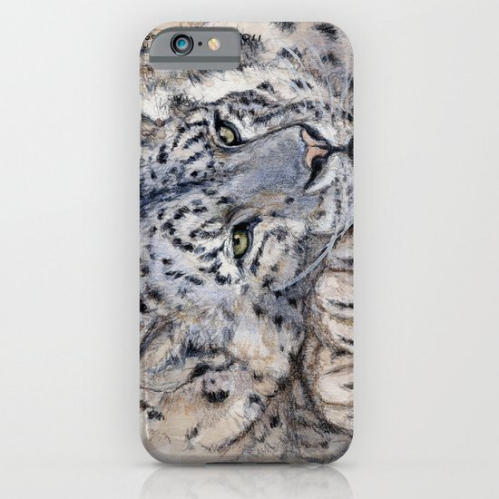 Snow Leopard Resting 778 iPhone & iPod Case