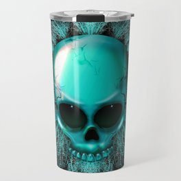 Ghost Skull Travel Mug