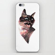 Siamese being a Siamese iPhone Skin