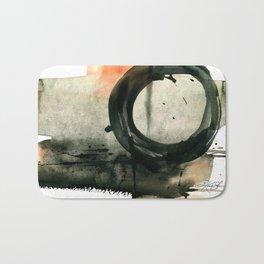 Enso Abstraction No. 107 by Kathy Morton Stanion Bath Mat