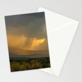 Rain in Montenegro Stationery Cards