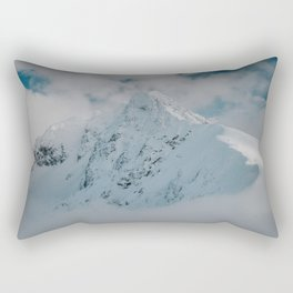 White peak - Landscape and Nature Photography Rectangular Pillow