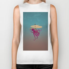 Flying Octopus Biker Tank