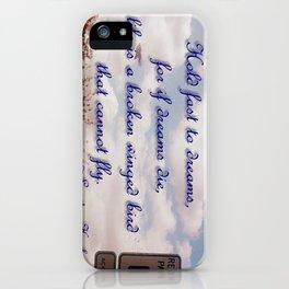 Broken Dreams iPhone Case
