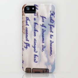 Broken Dreams iPhone Case