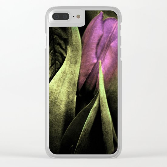 Dark Times Clear iPhone Case