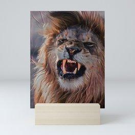 Let Me Roar Mini Art Print