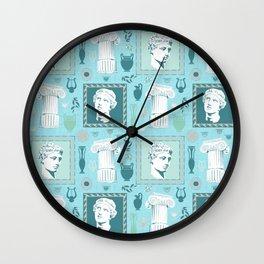 Ancient Greece Wall Clock
