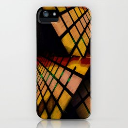 City Abstract View iPhone Case