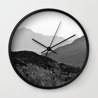 arizona Wall Clocks featuring Arizona by Elina Cate